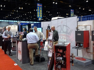 Crown Boiler Full Booth AHR Expo