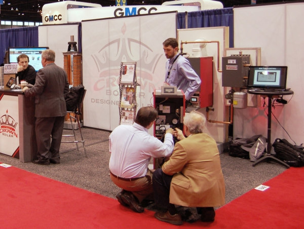 Crown Boiler AHR Expo Booth